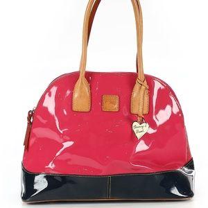 Pink Patent Leather Dooney & Bourke Satchel
